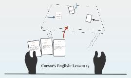 Caesar's English: Lesson 14