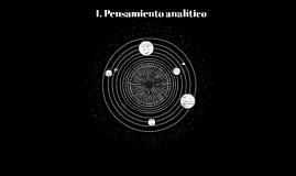 1. Pensamiento analítico