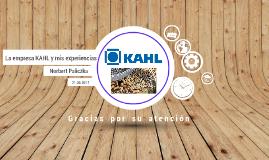 Kahl Spanisch S4 Präsentation