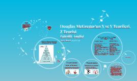 Copy of Douglas McGregor'un X ve Y Teorisi.