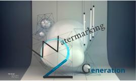 Techniques de seconde génération (Watermarking)
