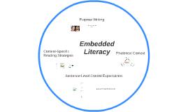 Embedded Literacy