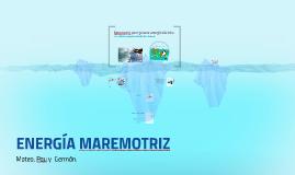 Copy of Energía Maremotriz