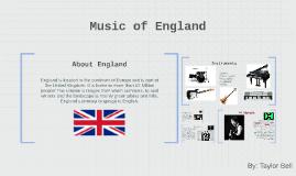Music of England