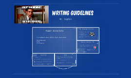 0.5: Writing Guidelines