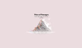 Rites of Passages