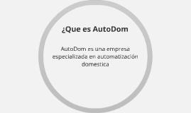 ¿Que es AutoDom