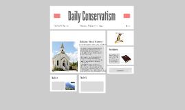 Conservatism: Religion