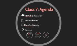 Class 7 Prezi