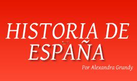 Spain Timeline