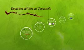 Desechos sólidos en Venezuela