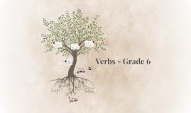 Verbs - Grade 6
