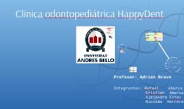 Copy of Clínica odontopediátrica HappyDent