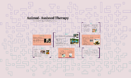 Animal- Assisted Therapy