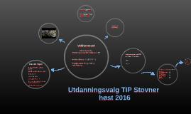 Utdanningsvalg TIP Stovner 9. klasse vår 2016