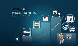 Proyecto Bodegas 2015