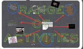 Range of Activities