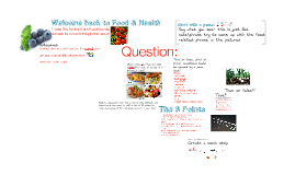 Year 7 Food and Health