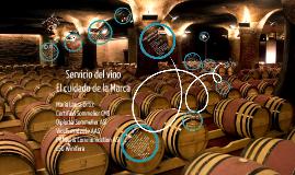 Servicio del vino - Cuidado de la Marca MLO