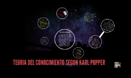 Copy of TEORIA DEL CONOCIMIENTO SEGUN KARL POPPER