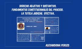 Copy of  Derecho Adjetivo y Sustantivo.