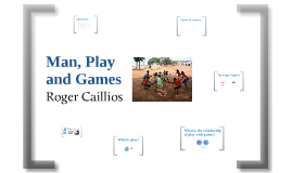 Man, Play and Games - Roger Caillois