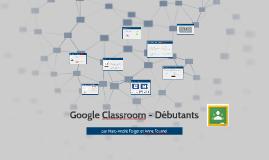 Google Classroom - Débutants