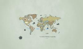 El mundo en 1816
