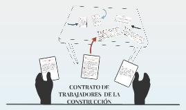 CONTRATO DE TRABAJO DE CONSTRUCCIÓN