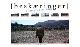 Beskæringer : Filmsprogets ABC