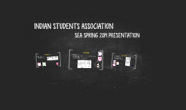 INDIAN STUDENTS ASSOCIATION