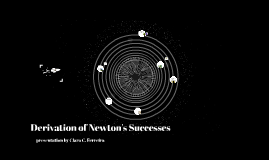 Derivation of Newton's Successes