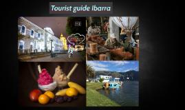 Tourist guide Ibarra