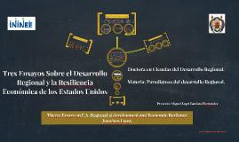 Therre Essays on U.S. Regional al development and Economic R