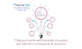 Filling your events with hundreds, thousands and even tens of thousands of prospects