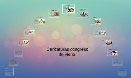 Caricaturas congreso de Viena