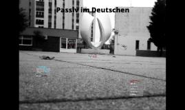 Passiv im Deutschen