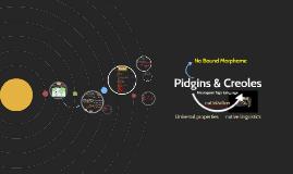 (28) Pidgins & Creoles