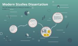 Modern Studies Dissertation