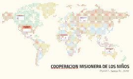 COPERACION MISIONERA DE LOS NIÑOS