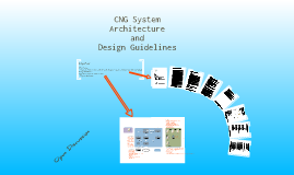 CNG System Architecture and Design Guidelines