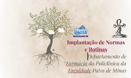 Implantação de Normas e Rotinas