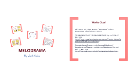 Theatre Melodrama
