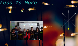Copy of Alto Rendimiento: Less is More