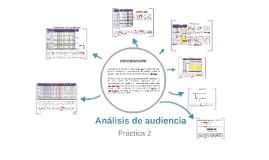 Análisis de audiencia