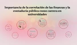 Importancia de la correlación de las finanzas y la contabili