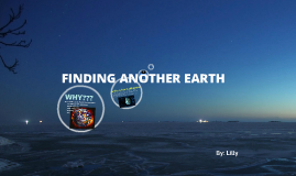 finding an other earth