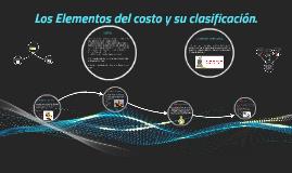 Copy of Los Elementos de costo y su clasificacion