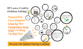 Preventing Oil Spill During Cooking
