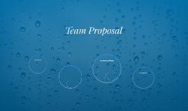 Team Proposal
